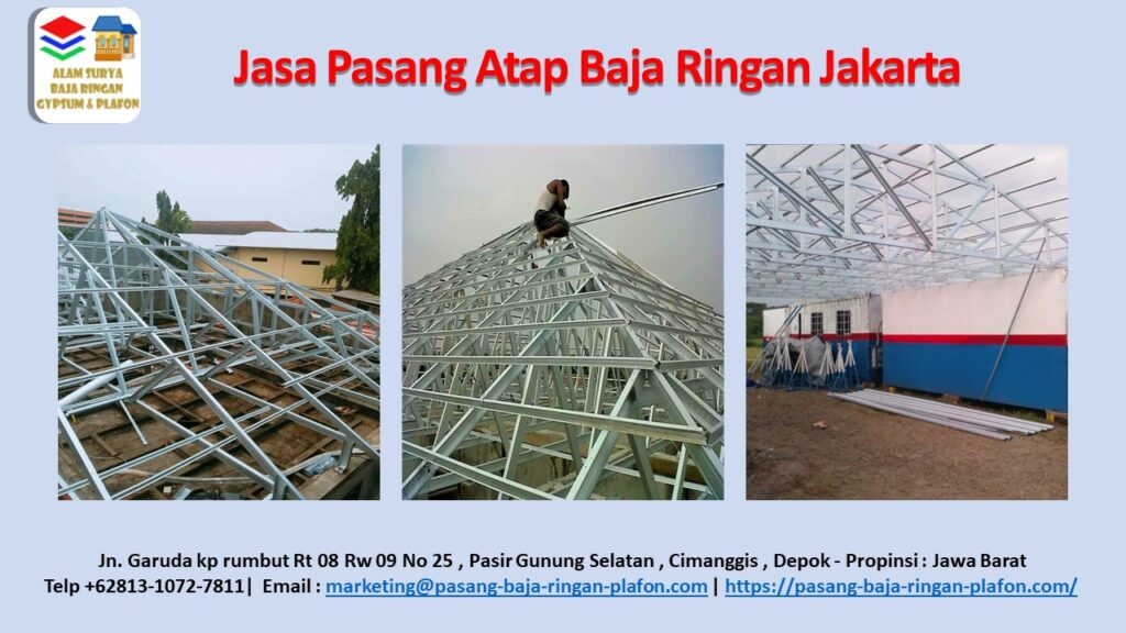 Pasang Atap Baja Ringan Jakarta